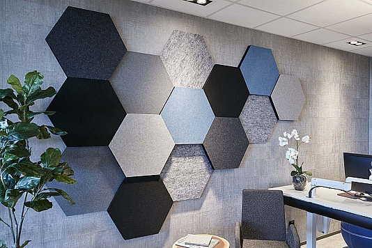 Honey ecosund wall panel